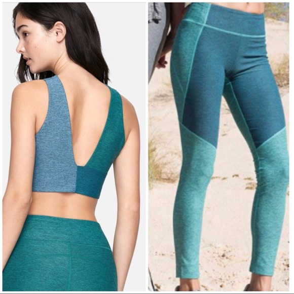 60128e6752124 Outdoor Voices Pants | Bundle Of Leggings And Crop Top | Poshmark